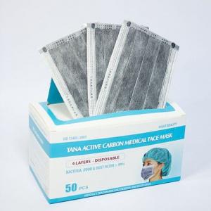 Khẩu trang than hoạt tính Tana hộp 50 cái